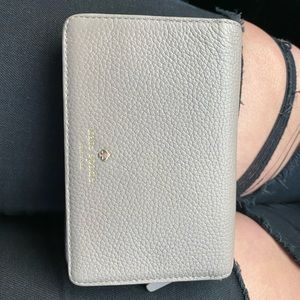 Beige Kate Spade Wallet